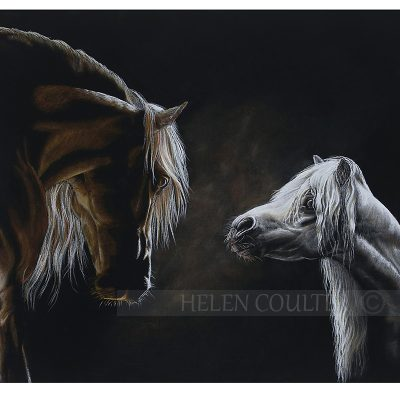 I Will Always Be Here For You | Helen Coulter Art