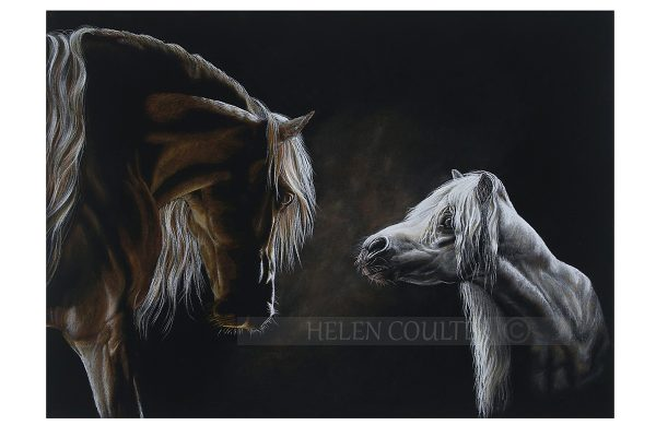 Helen Coulter Art | I Will Always Be Here For You