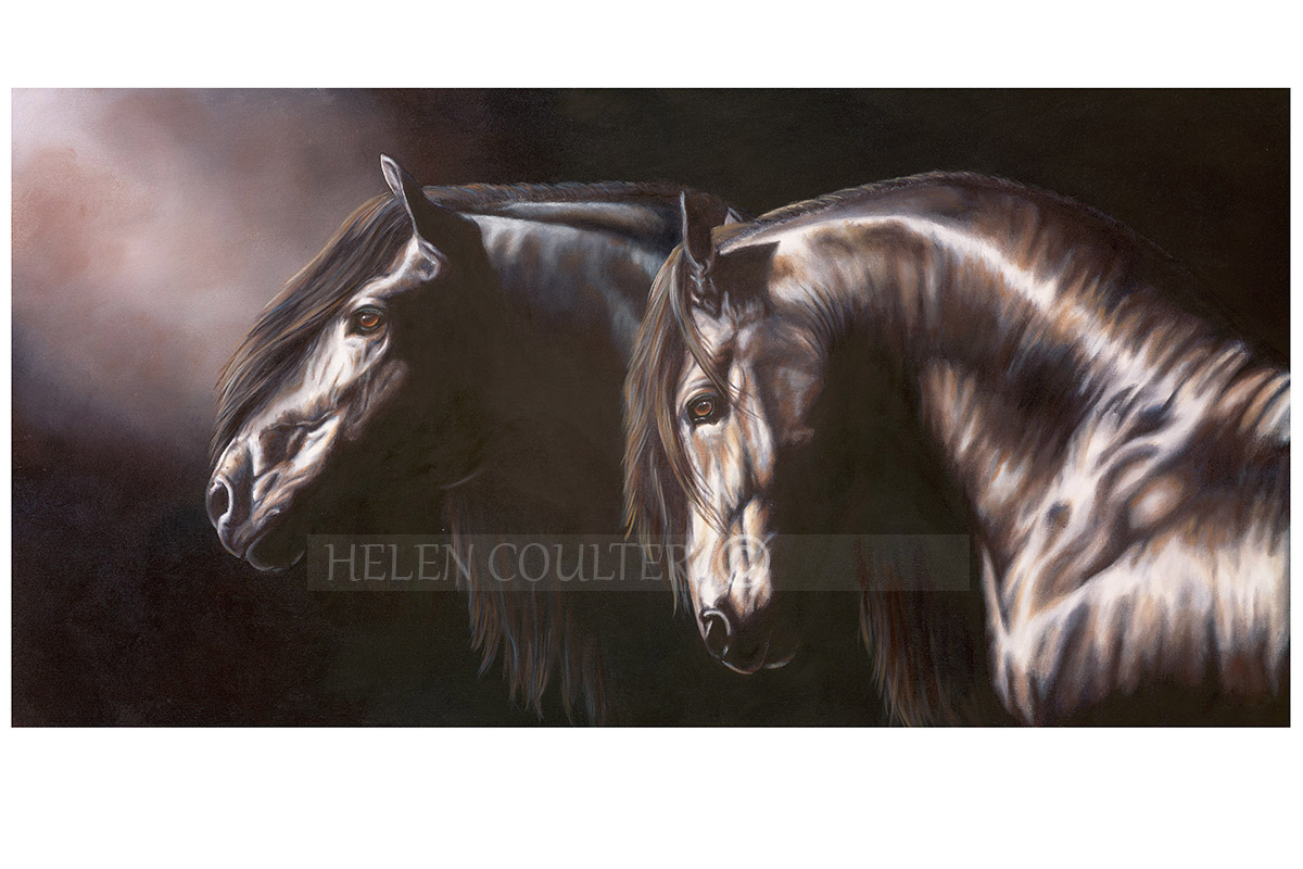 Helen Coulter Art | Into The Light