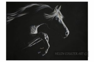 Silver In The Moonlight | Helen Coulter Art