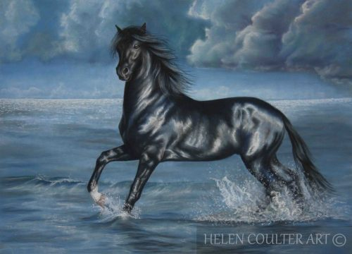 Race the Storm | Helen Coulter Art