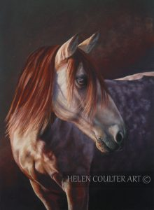 Touched by the Light   Helen Coulter Art