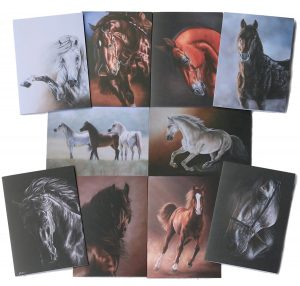 Equine Gift Cards Set 1 All | Helen Coulter Art