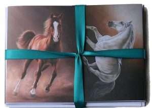 Equine Gift Cards Set 1 Presentation | Helen Coulter Art