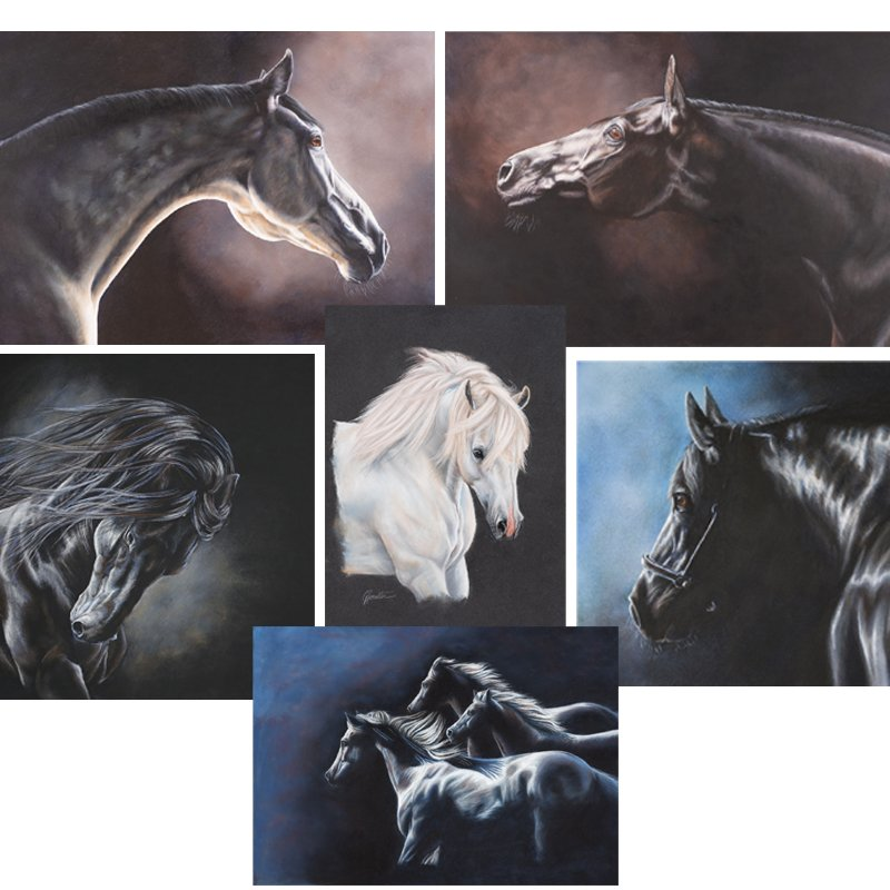 Greeting Cards Set 6   Helen Coulter Art