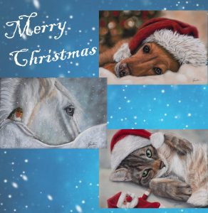 Greeting Cards Set Christmas   Helen Coulter Art